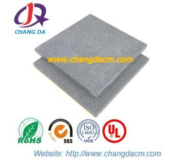 Reinforced fiber glass materials