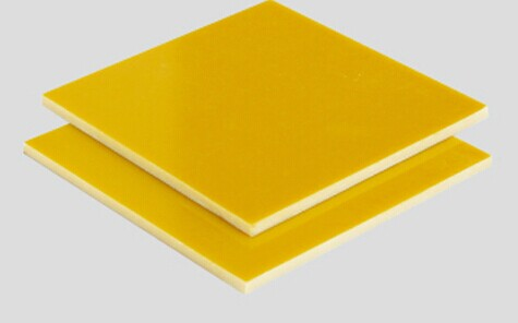 Yellow G10/FR-4 sheet